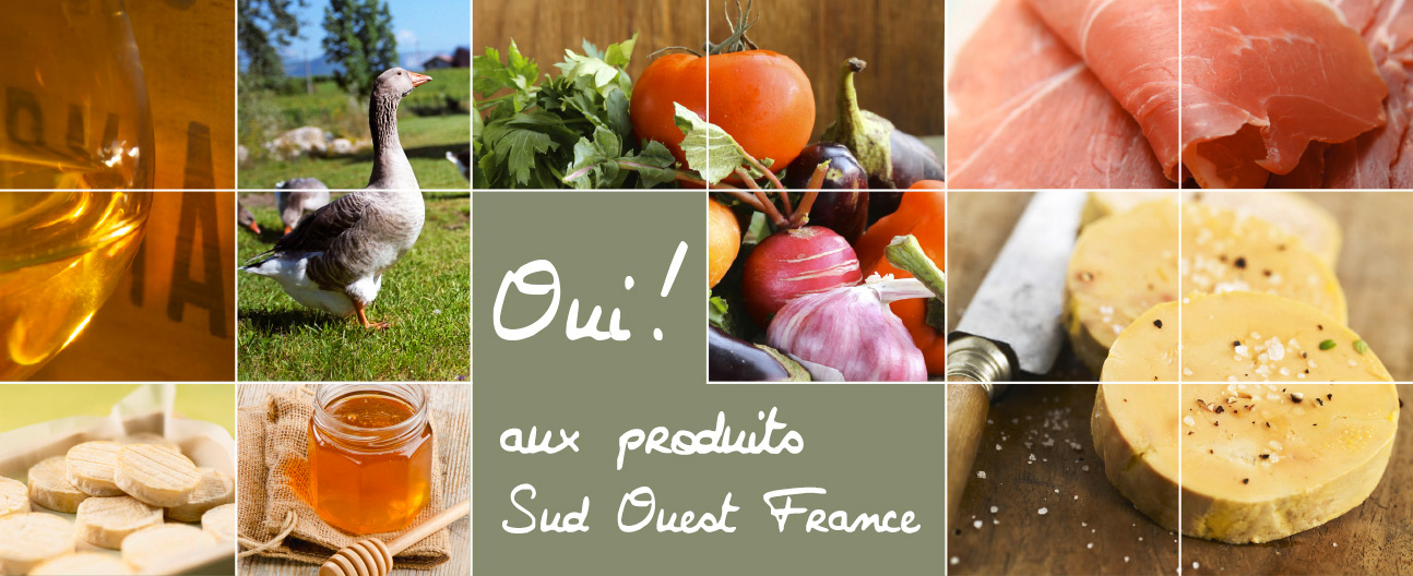 Une bannière pour unir les productions gastronomiques du Sud-Ouest de la France