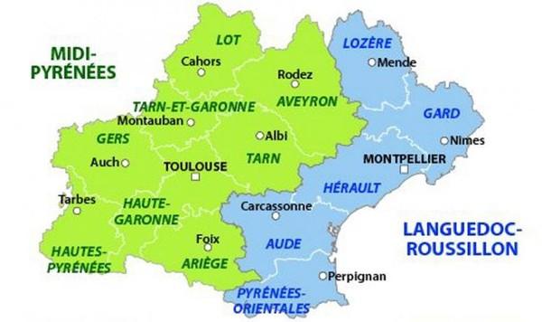 L'Occitanie : deux métropoles qui se tournent le dos