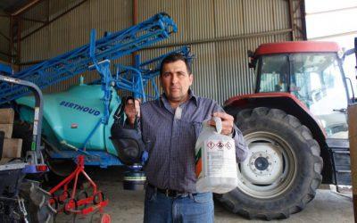 Les agriculteurs, intoxiqués au glyphosate